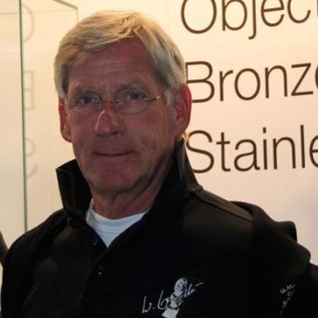 Bildhauer Wolfgang Lamche